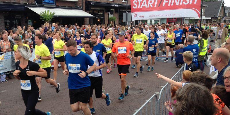 Groevenbeek in actie bij halve marathon