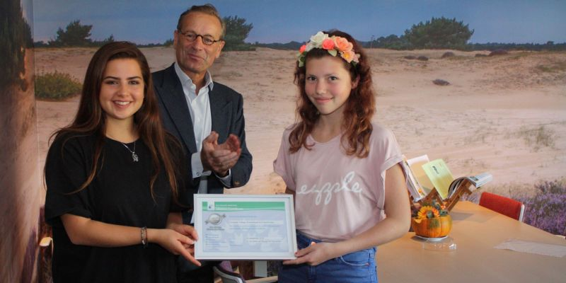 Groevenbeek ontvangt zilveren certificaat ECO-schools