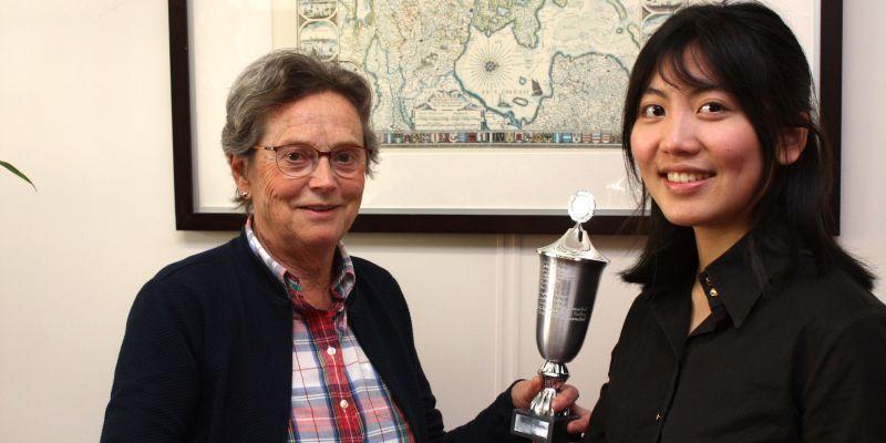 Brigitta Li wint de 1e prijs van het Concours Vision d' Europe