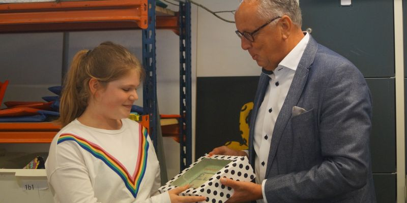 'Putten voor Iedereen' - Noortje Urbach wint logowedstrijd