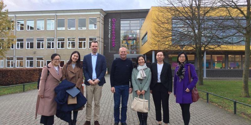 Groevenbeek heeft 2e partnerschool in China