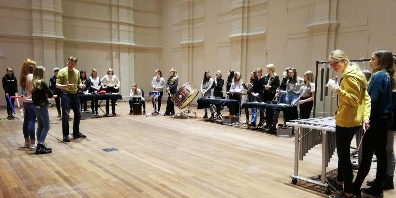 Percussie en Beethoven met Kunstklas 3