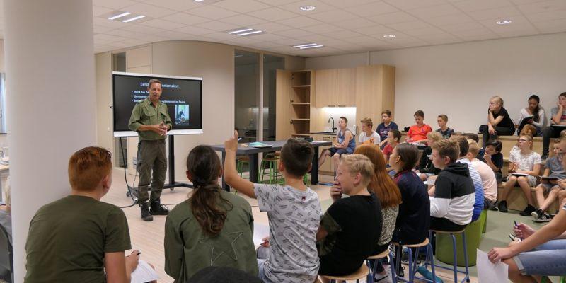 Gemeente Ermelo geeft opdracht aan de techniekklas