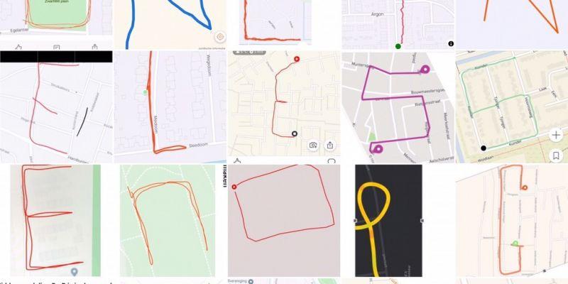 Klas ah13 creatief met sports tracker app