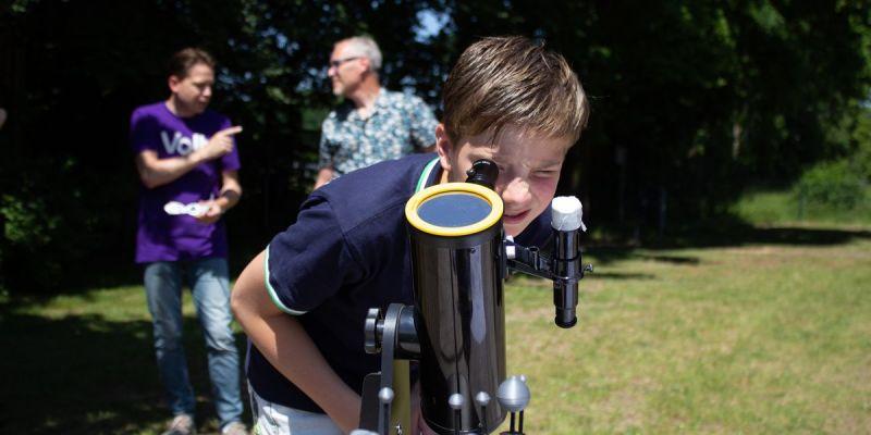 'Schitterende' praktijkles natuurkunde