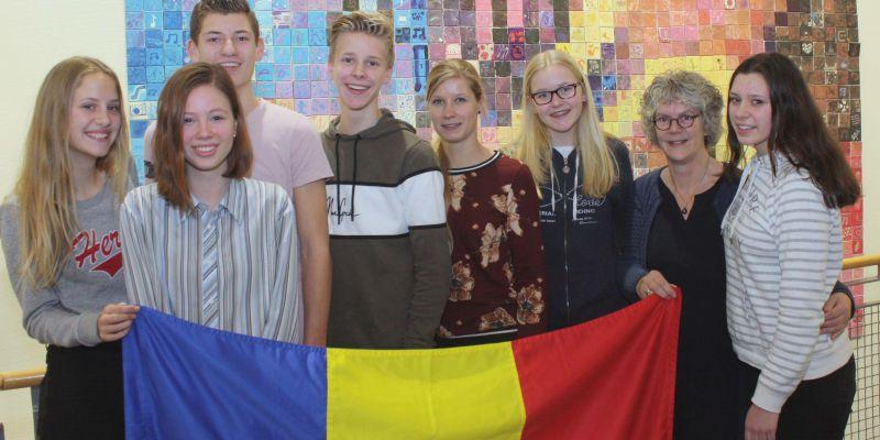 Team Groevenbeek op weg naar Roemenië