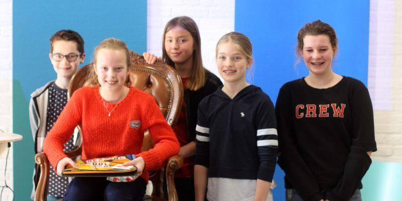Alicia winnaar regionale voorleeswedstrijd