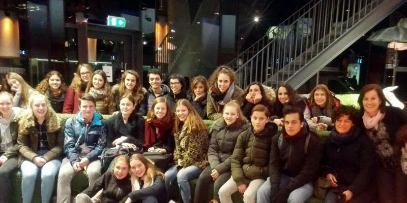 Leerlingen uit Spaans Olot te gast op Groevenbeek