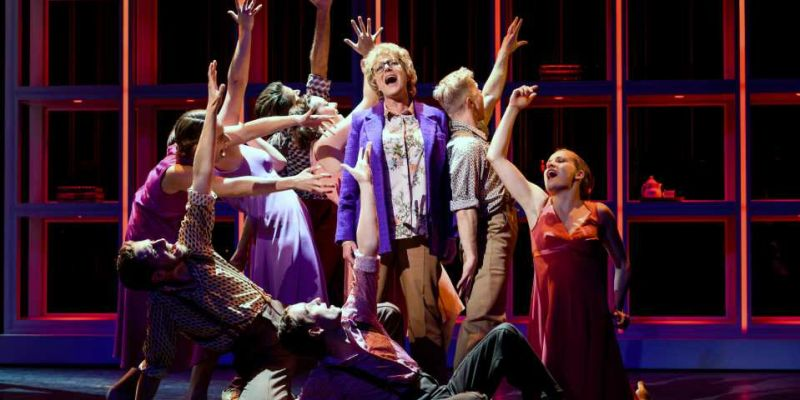 Kunstklas bezoekt musical 'Was getekend, Annie M.G. Schmidt'