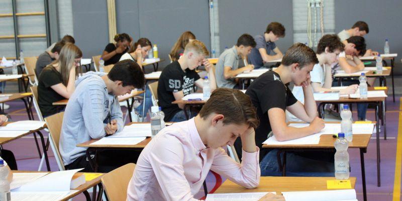 De examens zijn begonnen
