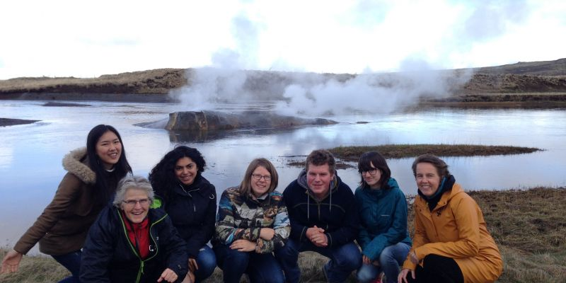 Leerlingen op studiereis naar IJsland