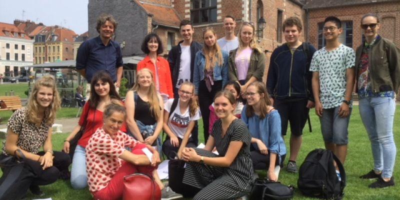 Leerlingen DELF bezoeken Lille