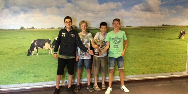 Groevenbeek wint Team Maths Challenge
