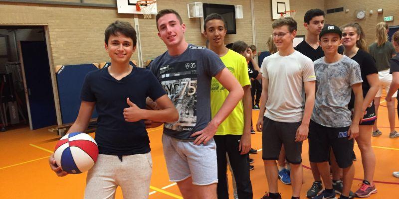 Leerlingen uit Toulon te gast op Groevenbeek