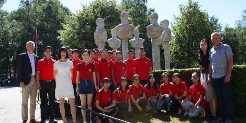 Chinese partnerschool bezoekt Groevenbeek