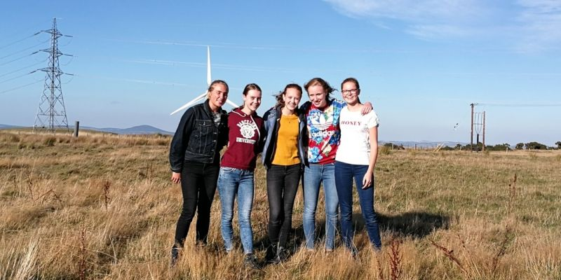 Leerlingen 'Erasmus+' op studiereis naar Schotland