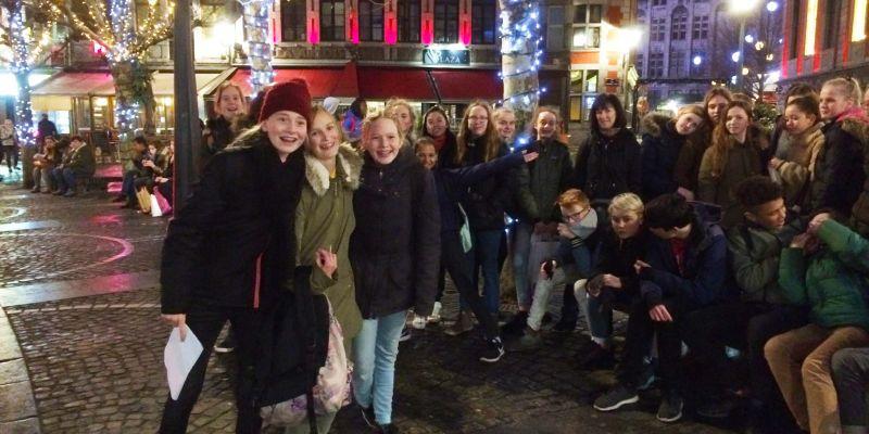 Klas 2 bezoekt Luik