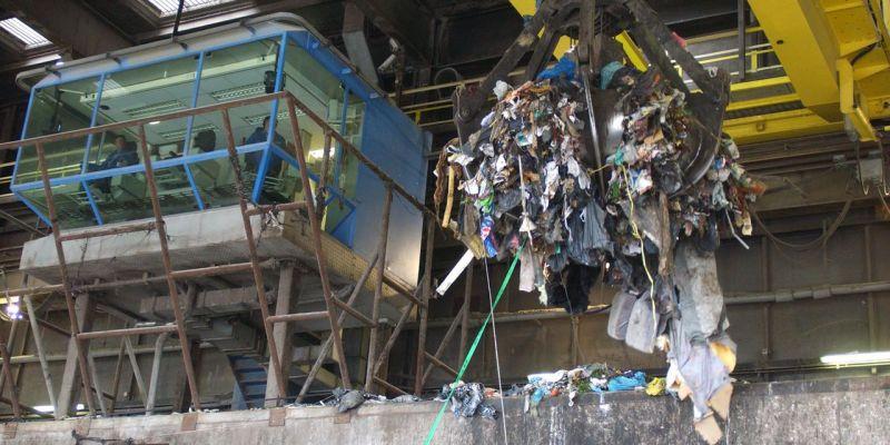 Erasmus+ bezoekt afvalverwerkingsbedrijf