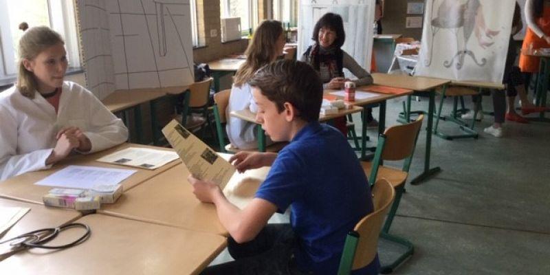 Klas 3 bezoekt taaldorp Frans