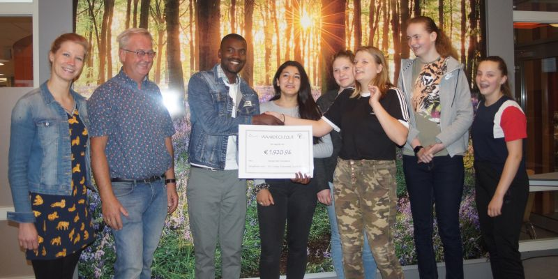 Groevenbeek Putten schenkt ruim 1.900 euro aan Lwengo Kids Foundation