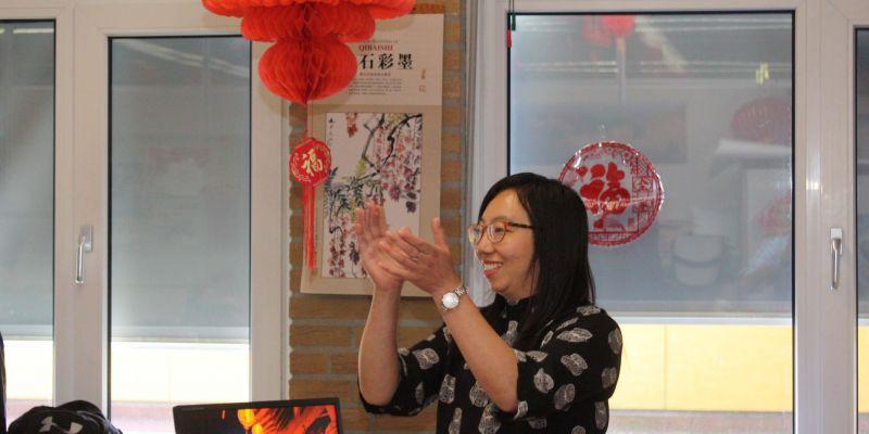 Een applaus van en voor mw. Hong Chen