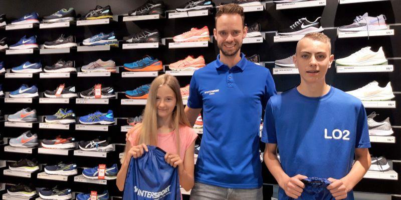 Emma, Jens en Daniël winnen Intersport prijs