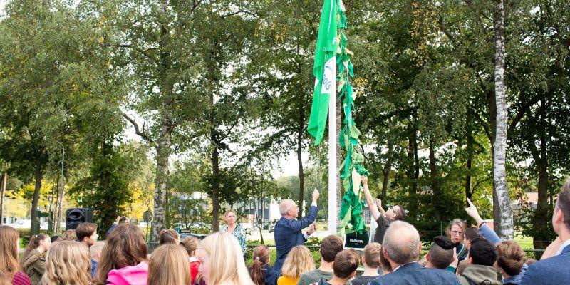 Groene ECO-vlag voor Groevenbeek