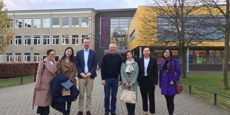 Groevenbeek heeft 2e partnerschool in China
