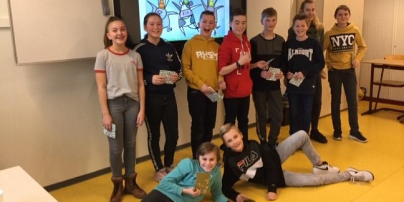 Jesper en Stijn winnen voorleeswedstrijd