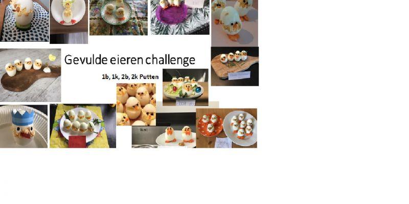 Challenge gevuld eitje