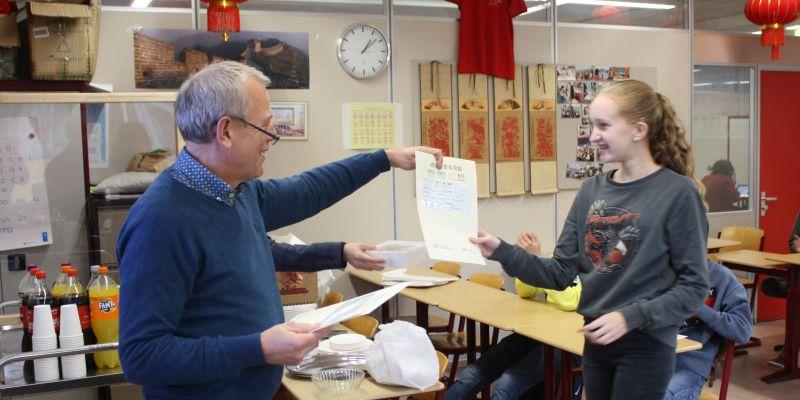 19 leerlingen geslaagd voor Chinees HSK-diploma