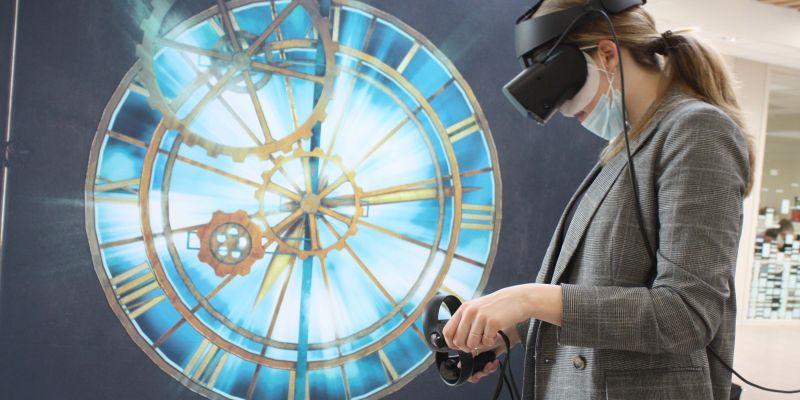 Met een VR-bril terug in de tijd