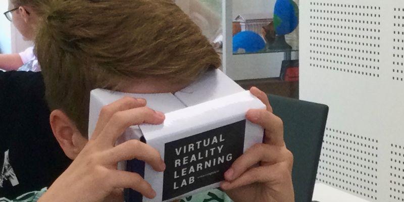 Virtual Reality workshops bij de techniekklas